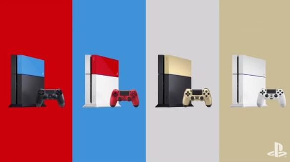 Carcasas PS4