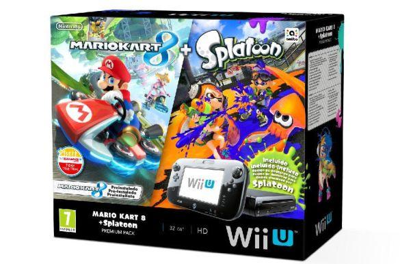 Wii U Mario Kart y Splatoon