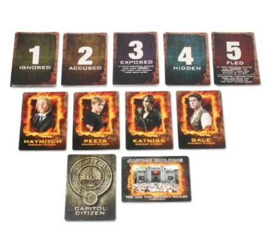 The Hunger Games Jabberjay Card Game