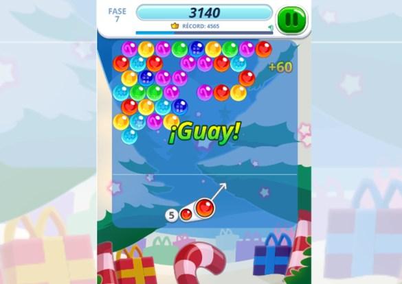 Bubble Charms Xmas juego