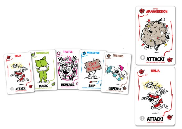 Attack the Killer Kittens Kickstarter