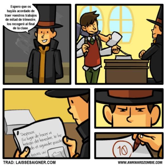 Humor Videojuegos Layton1