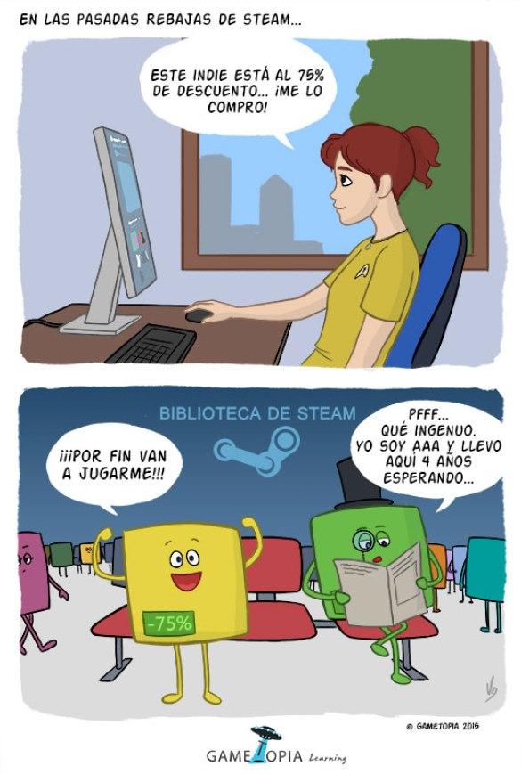 Humor Videojuegos Steam