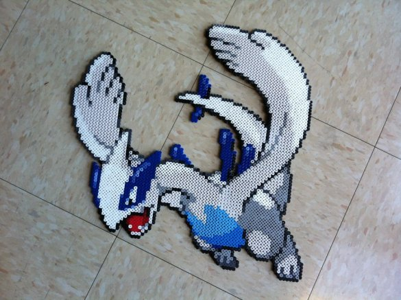 Hama Bead Pokemon Lugia