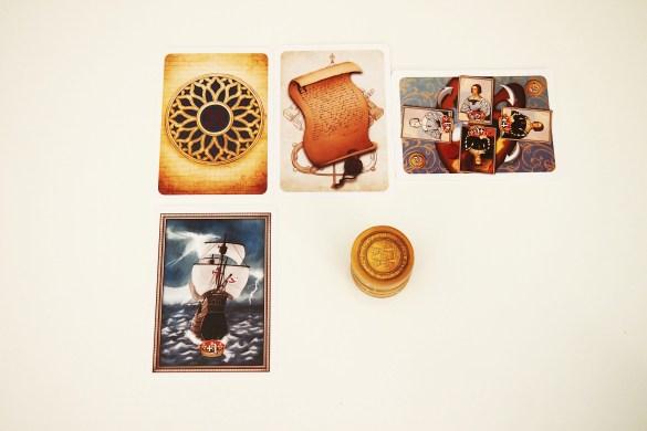 Cartas de Rosetón, Bula, Pintor de la Corte, Viaje de Magallanes y ducados.
