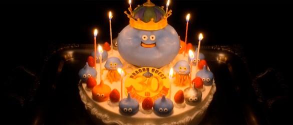 Dragon Quest cake
