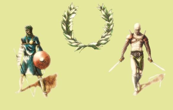 Ludi Gladiatorii juego de mesa