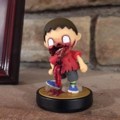 amiibo aldeano zombi
