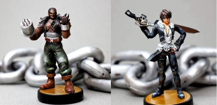 Amiibo Barret y Squall