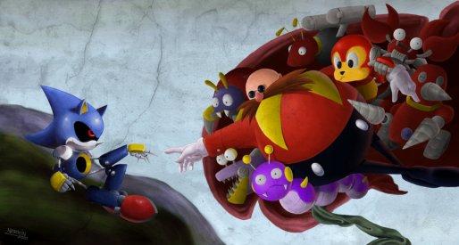 Creacion Metal Sonic