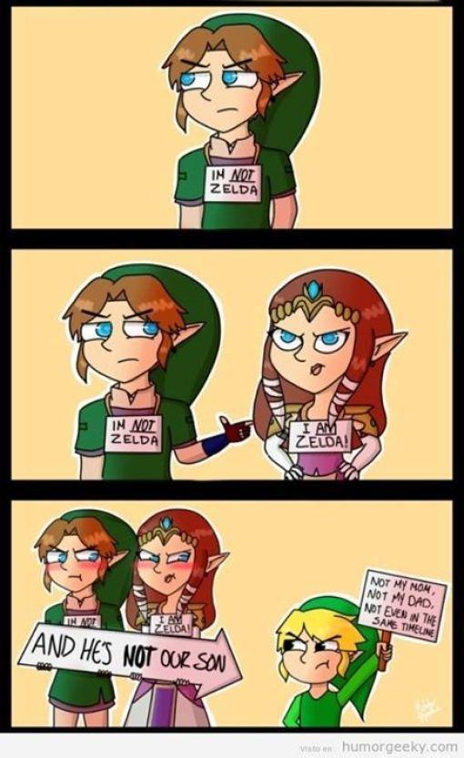 Humor Zelda
