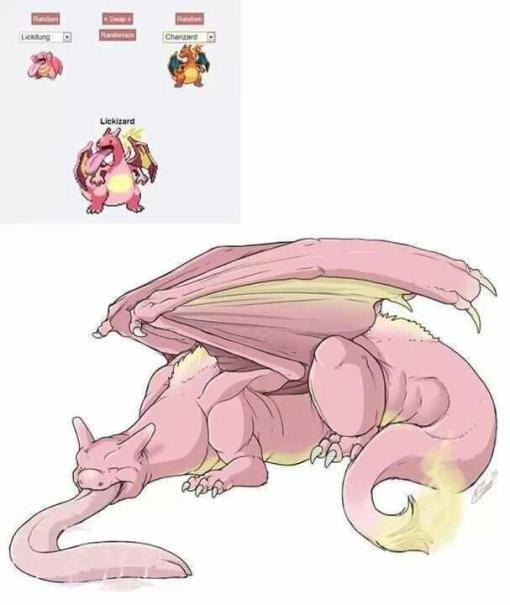 Pokemon fusion Likitung