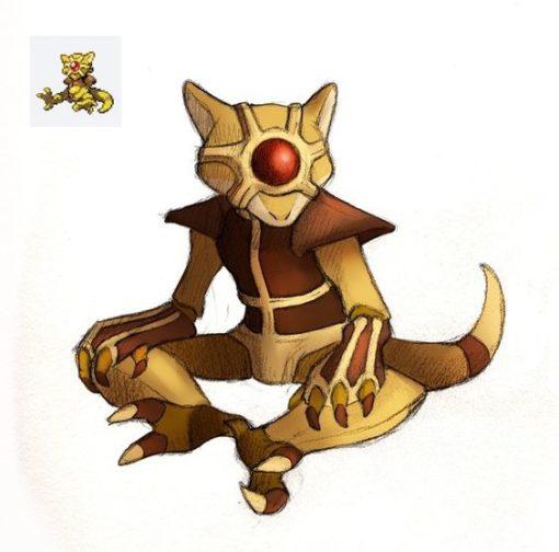 Pokemon fusion Staryu