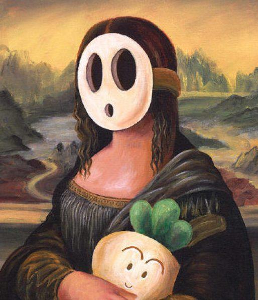 shy Guy Mona Lisa