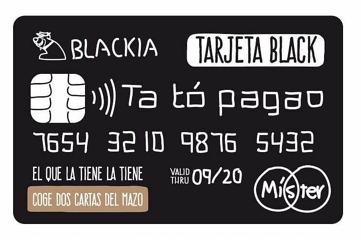 Tarjeta Black, una de las estrellas de El Tesorero.