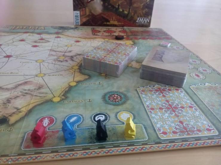 Pandemic Iberia board game