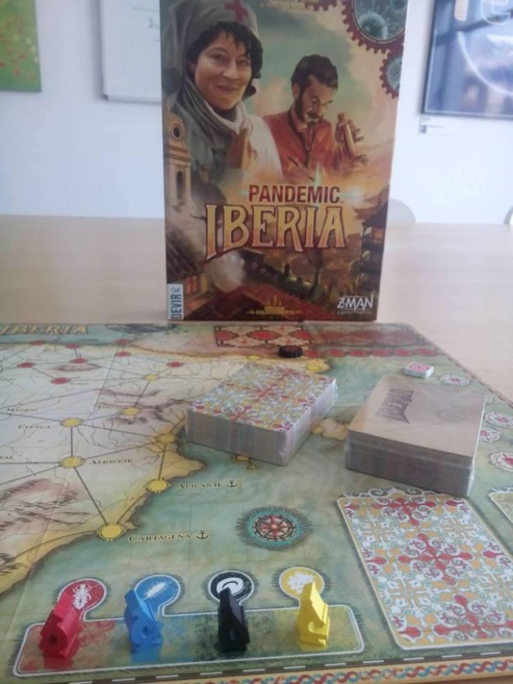 Pandemic Iberia juego de mesa