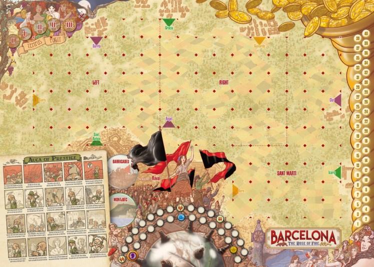 barcelona-la-rosa-de-fuego-tablero