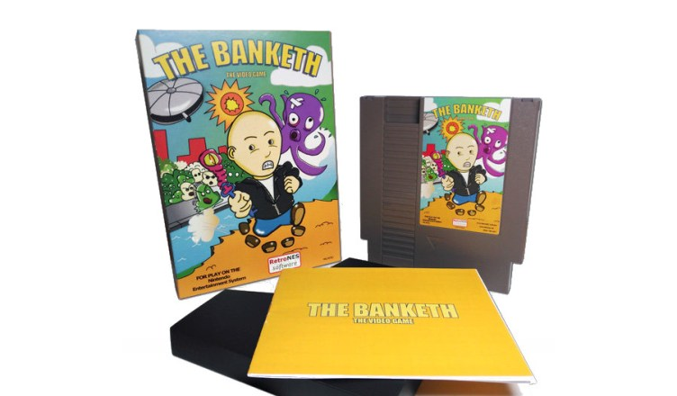 The Banketh The Video Game NES