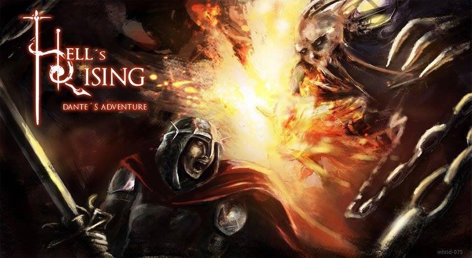 Hell's Rising, el juego de La Divina Comedia, prueba suerte en Verkami