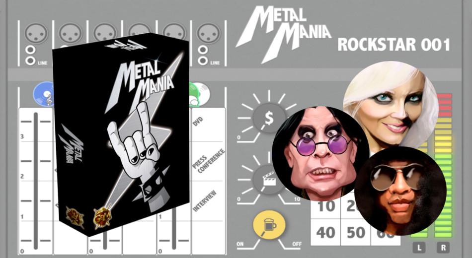 Metalmanía: música, cartas y dados en el nuevo juego de GDM Games