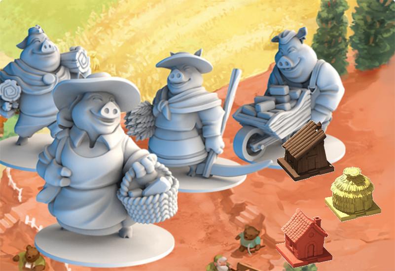 The Grimm Forest: los cuentos clásicos en un cuidado juego de mesa