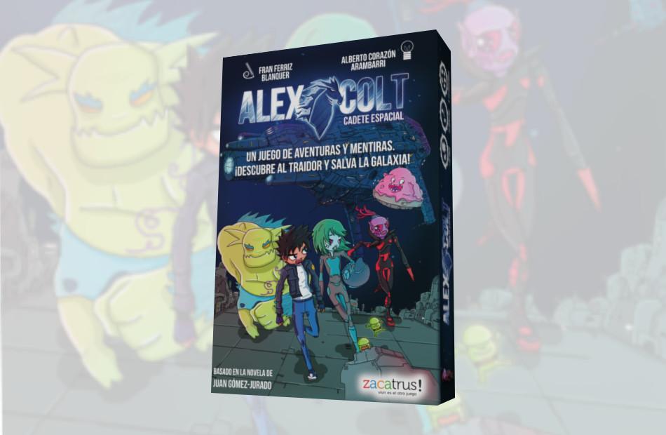 Así será Alex Colt: Cadete Espacial, el nuevo juego de Zacatrus