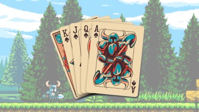 baraja de cartas shovel knight