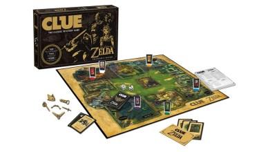 Cluedo The Legend of Zelda