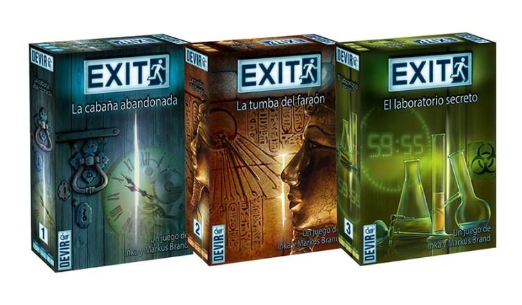 Comics Nuevos Juegos Escape Room Exit El Juego