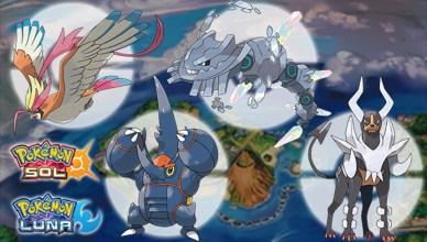Megapiedras Pokémon Sol y Luna