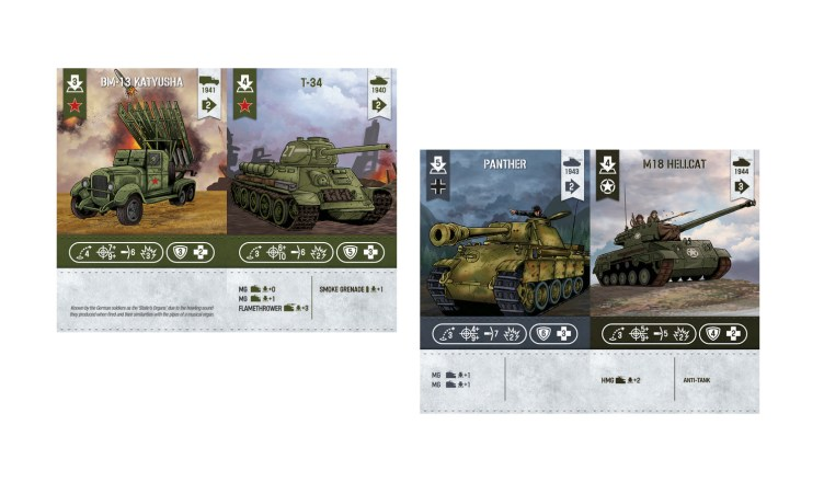 WWII Tactics Card Game expansiones