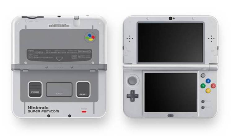 New Nintendo 3DS XL SNES