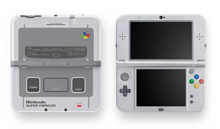 New Nintendo 3DS XL SNES