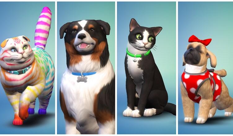 Los Sims 4 Perros y Gatos