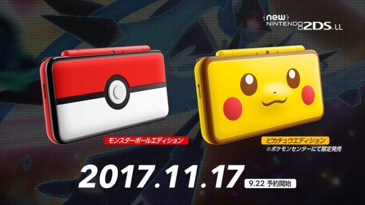 New Nintendo 2DS XL Pikachu