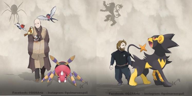 Pokemon Juego de Tronos