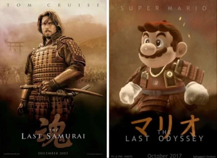 Super Mario El Ultimo Samurai