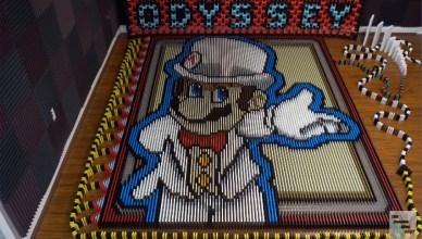 Super Mario Odyssey dominó