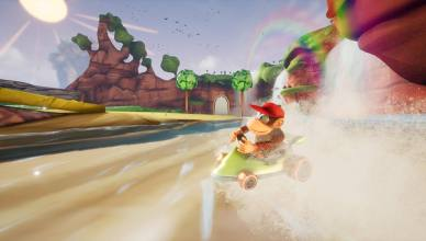 Diddy Kong Racing Unreal Engine 4