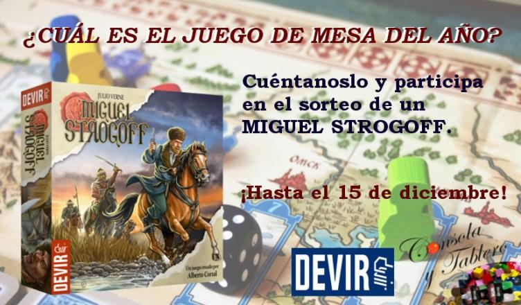 sorteo Miguel Strogoff