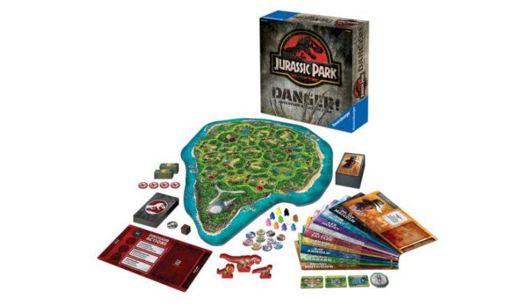 Anunciado El Juego De Mesa Jurassic Park Danger Consola Y Tablero