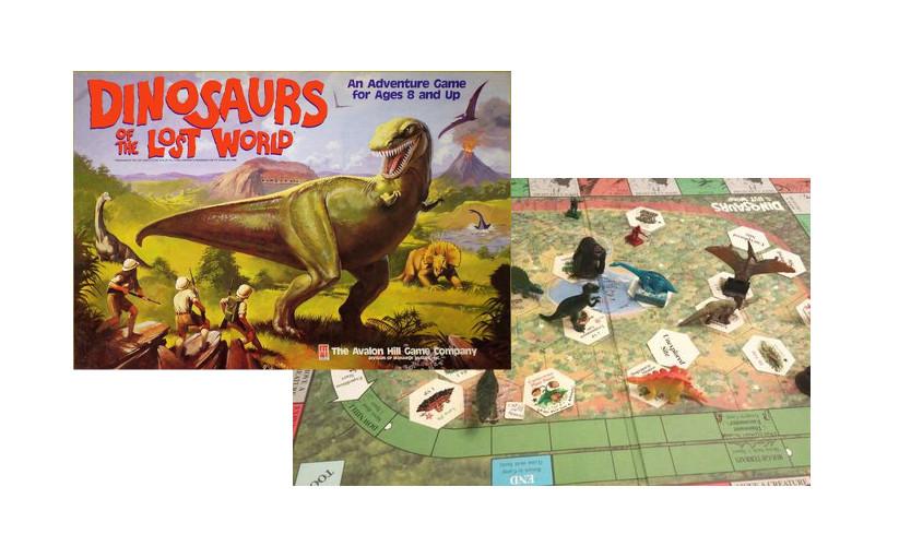 Los Dinosaurios En Los Juegos De Mesa Consola Y Tablero