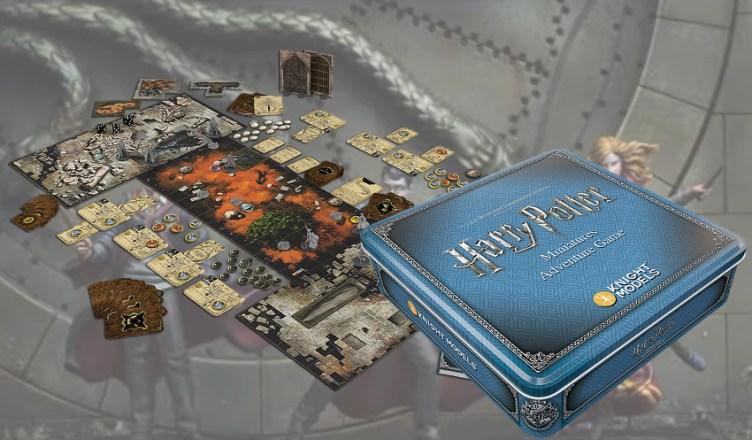 Presentado Harry Potter Miniatures Adventure Game Consola Y Tablero