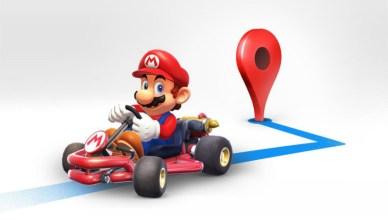 Google Maps Mario