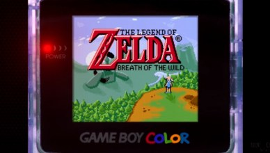 Breath of the Wild Game Boy Color