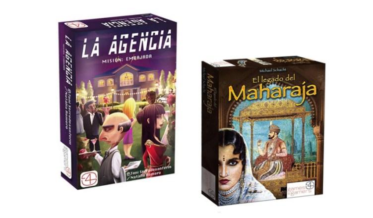 Games 4 Gamers nuevos juegos de mesa