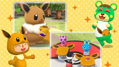 Eevee Animal Crossing Pocket Camp