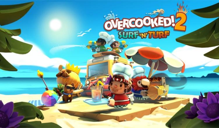 Overcooked! 2 Surf 'n' Turf