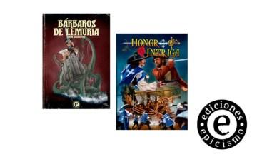 Bárbaros de Lemuria Honor + Intriga